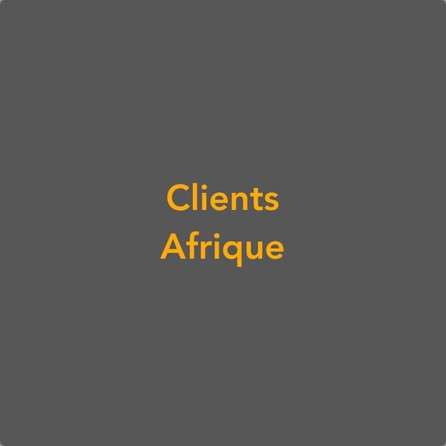 Clients Afrique