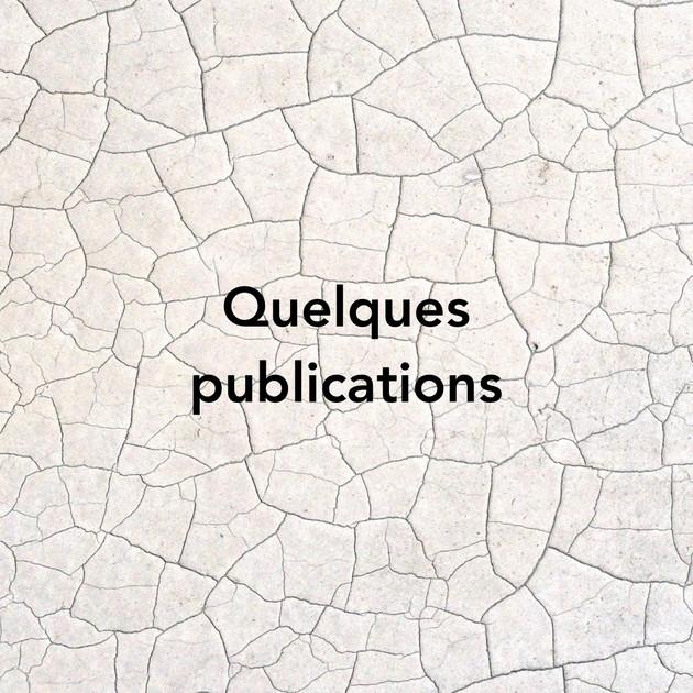 Dernières publications