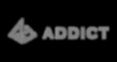 ADDICT ロゴ 灰色(背景透明).png