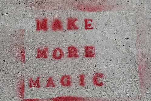 AT MY FEET, magic