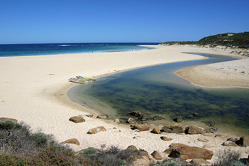 JS137-Margaret River mouth