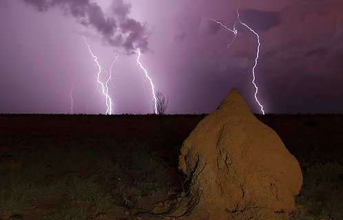 JS442-Pilbara Lightning Show