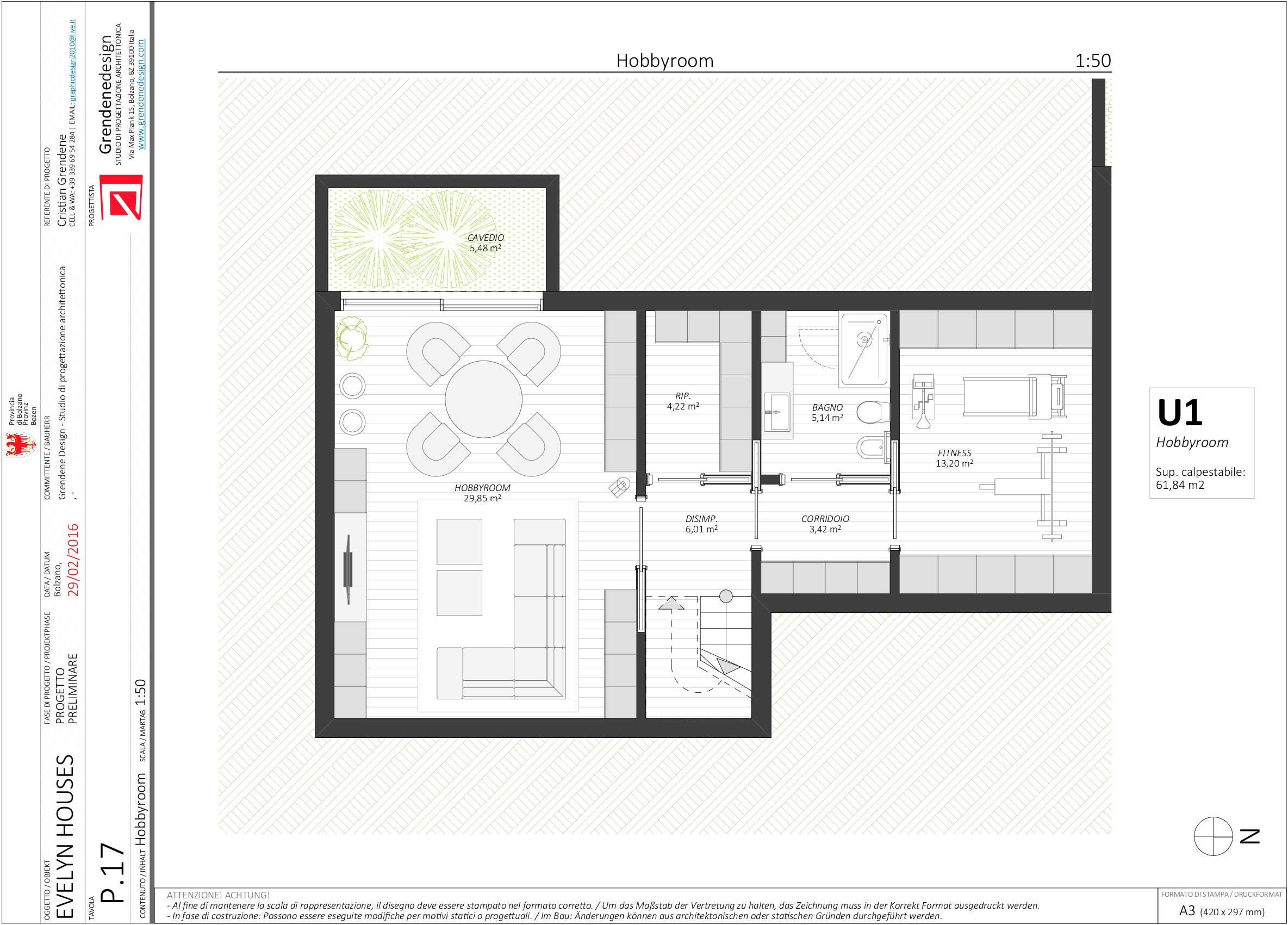 UNITA' 1 - Hobbyroom