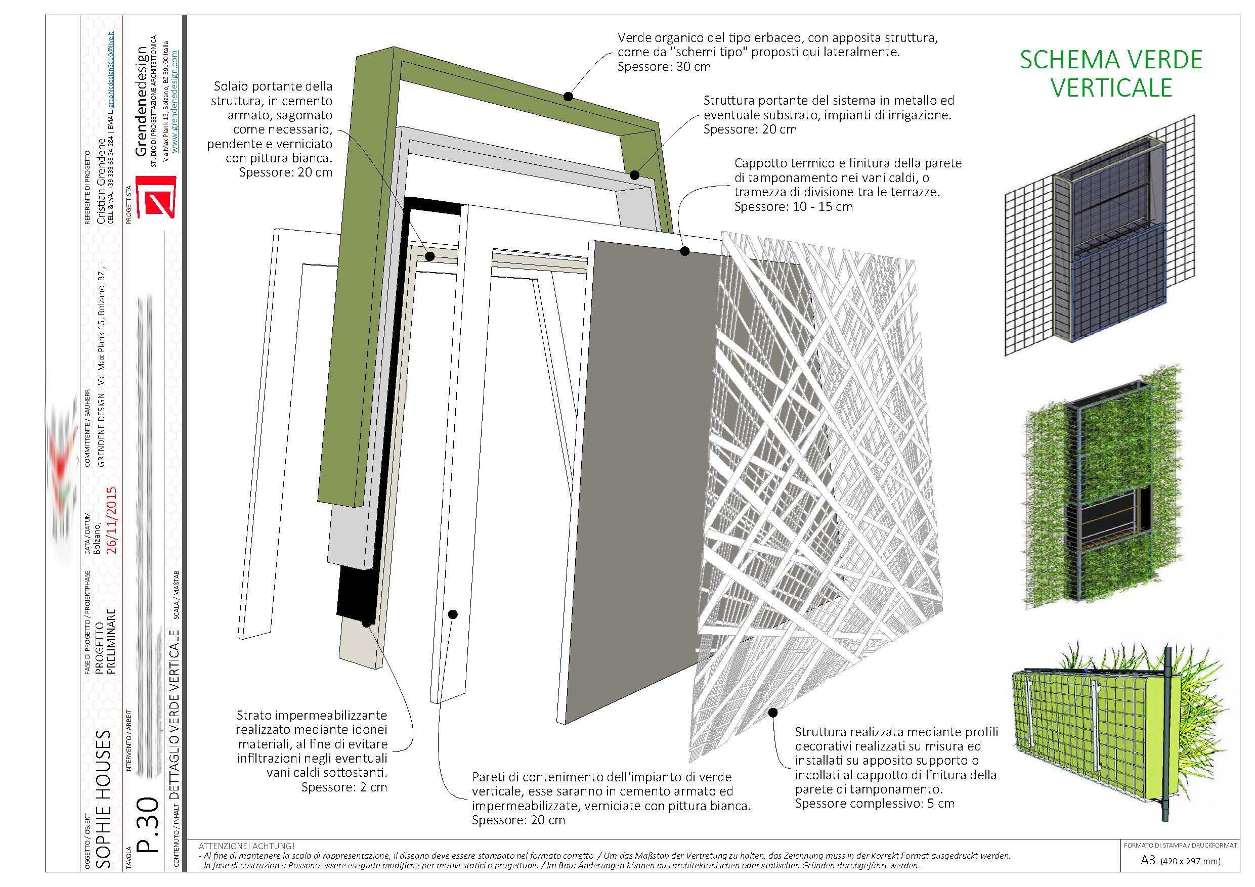"""Schema sistema """"Verde Verticale"""""""