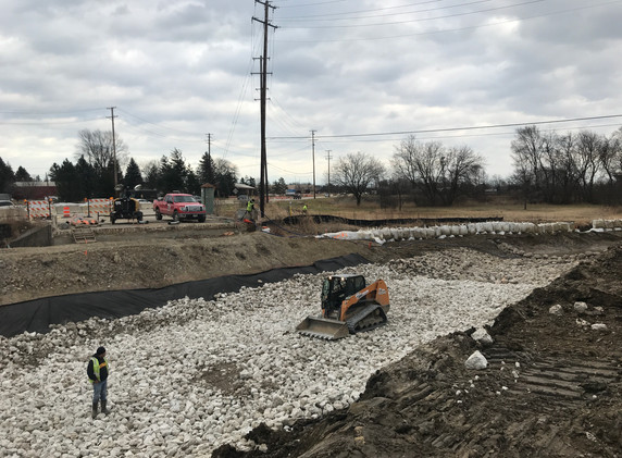 Buffalo Creek realignment