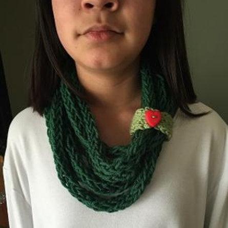 Dark Green InfinityScarf
