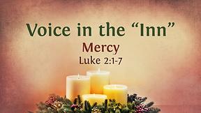 "Voice in the ""Inn"" - Advent # 4"