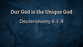 God Really Is, There is No Other