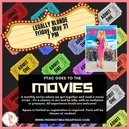 Clue- PTAC GOES TO THE MOVIES-Instagram
