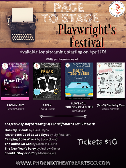 Copy of Page to Stage Playwright's Festi