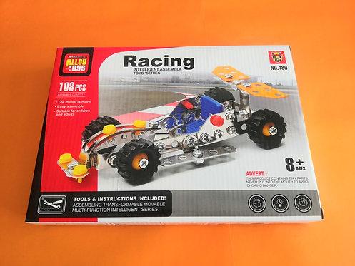 Puzzle metal Racing