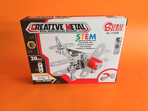 Puzzle metal Avión