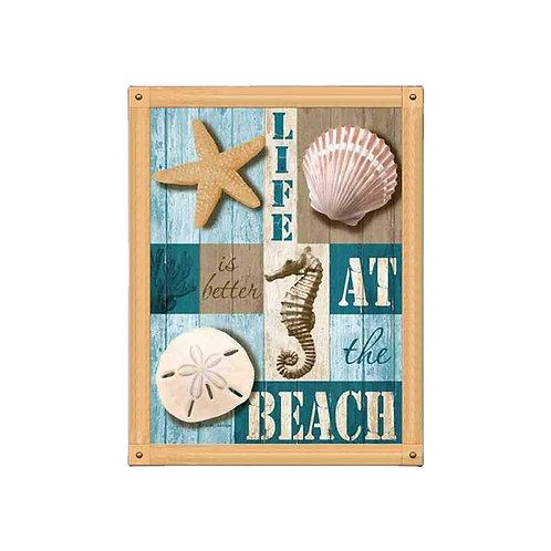 Pintura Diamante DIY LIFE AT BEACH