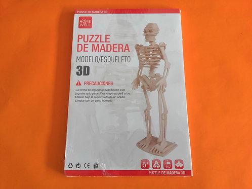 Puzzle de madera Esqueleto