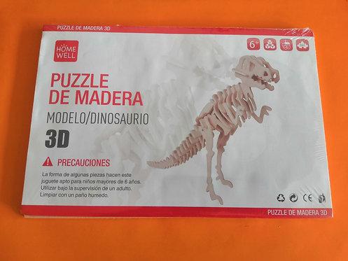 Puzzle de madera Dinosaurio