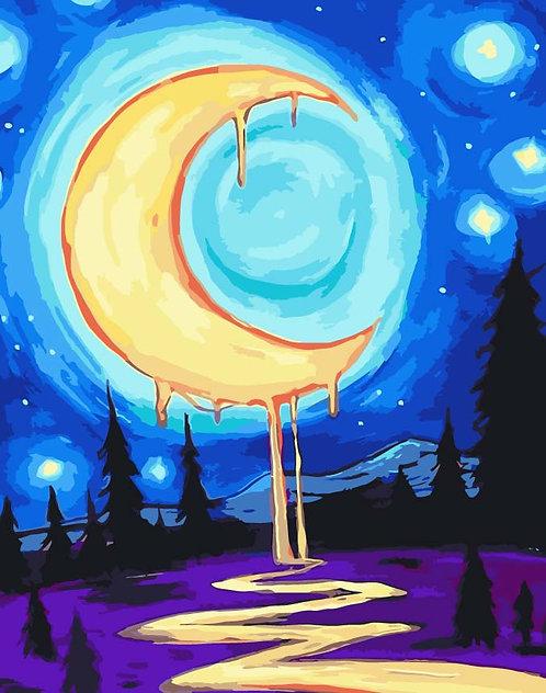 Pintura por número DIY W5499