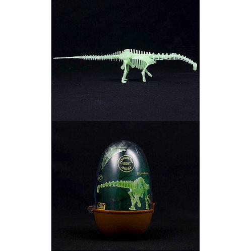 Armable fluorescente Diplodocus