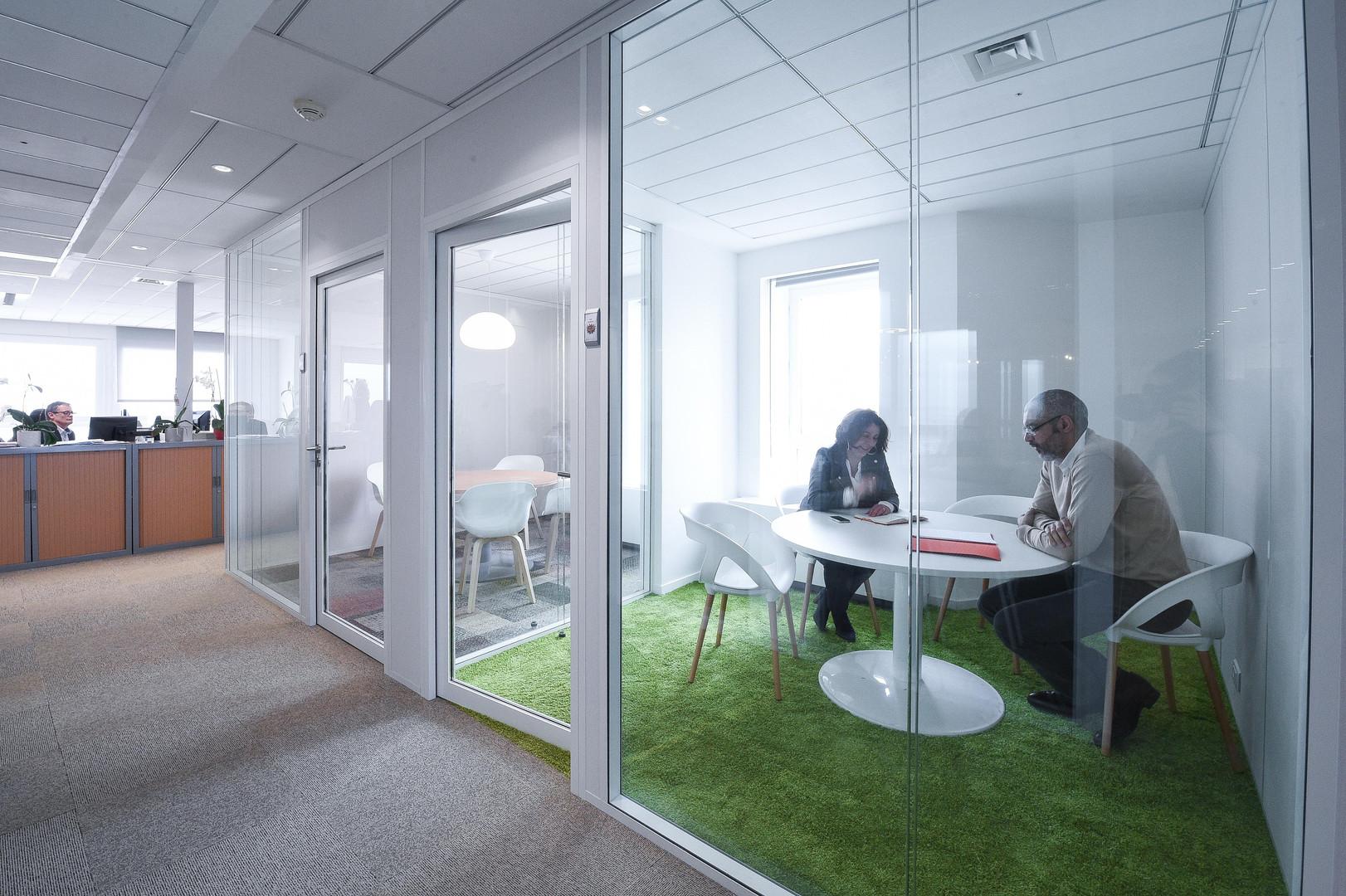 Salle de réunion green