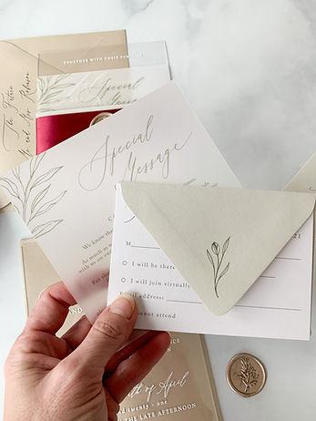 The Prettiest Pixel Wedding Invitations
