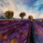 Gilbert Csecs_Lavender Fields_Acrylic.JP