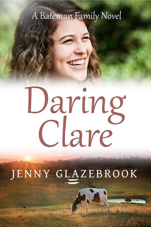 'Daring Clare' by Jenny Glazebrook