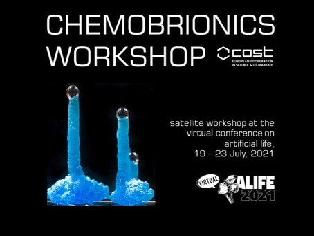 ALIFE 2021 workshop on Chemobrionics