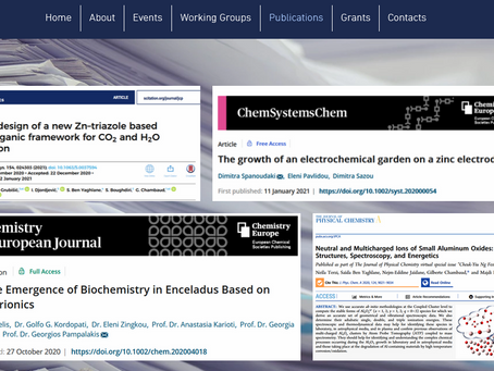 Read on Chemobrionics in two new papers