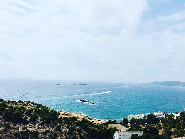 Ibiza view 😎 #travelblog #triptips #tra