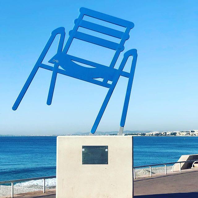 chaises bleues #chaises #bleues #francia