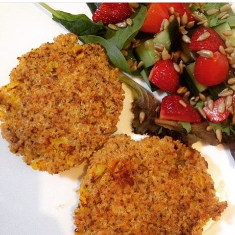 Quinoa patties - yumminess 😘_#glutenfree #gf #fitnessmotivation #fitgfmum #healthyfood #healthylivi
