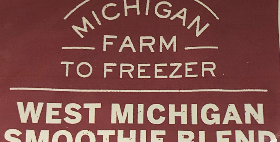 Farm to Freezer West Michigan Smoothie Blend 2lbs