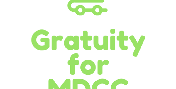 Gratuity for MDCC Staff