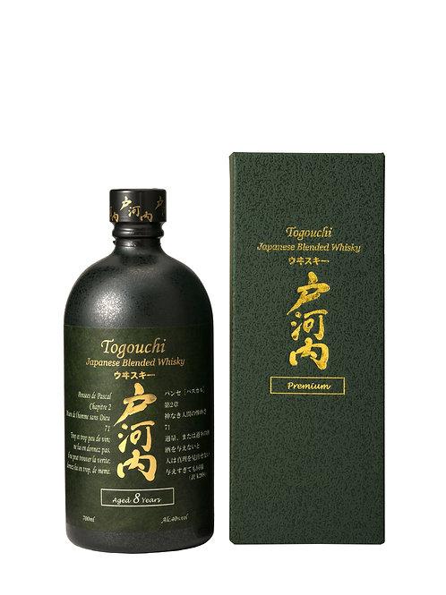 Togouchi Japanese Blended Whisky Aged 8 Years