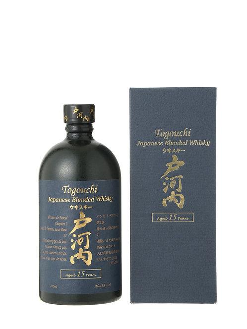 Togouchi Japanese Blended WhiskyAged 15 Years