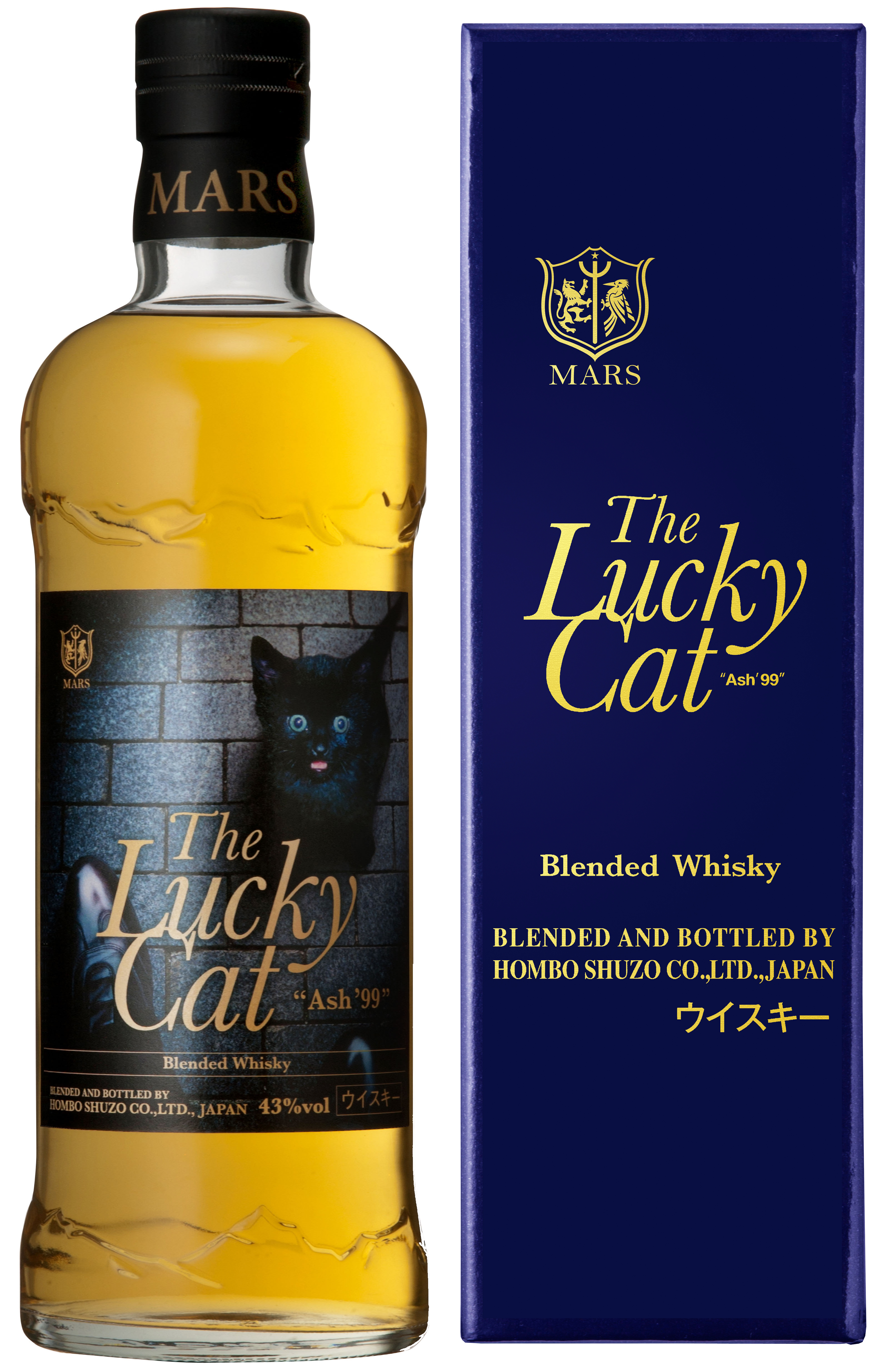 The Lucky Cat 「Ash 99」Blended Whisky