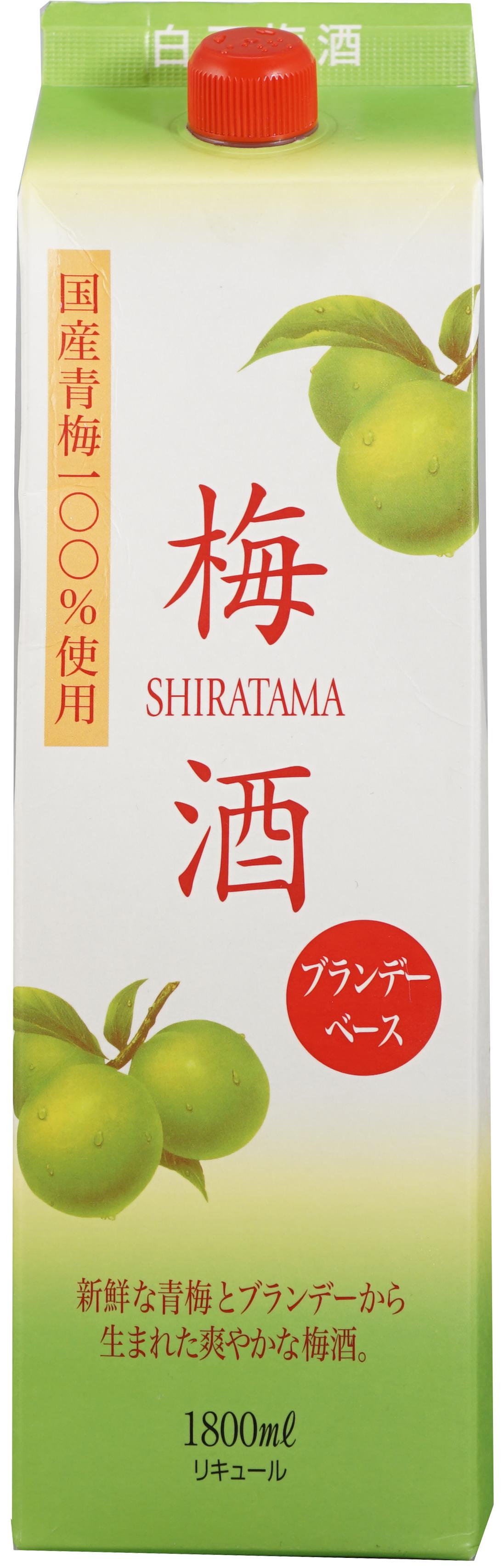 Shiratama Plum Wine with Brandy