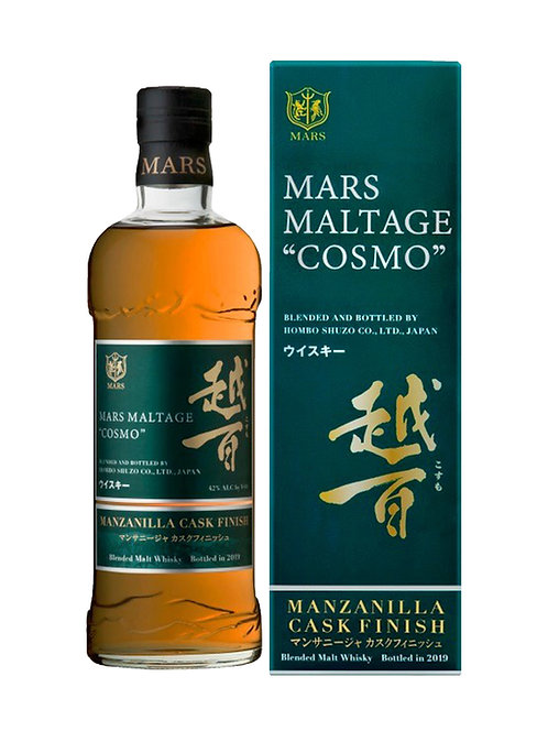 "Mars Maltage ""Cosmo"" Blended Malt Whisky Manzanilla Sherry Cask Finish"