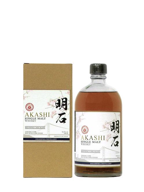 Akashi Single Malt Whisky (aged in Cognac cask & finished in Red Wine Cask)