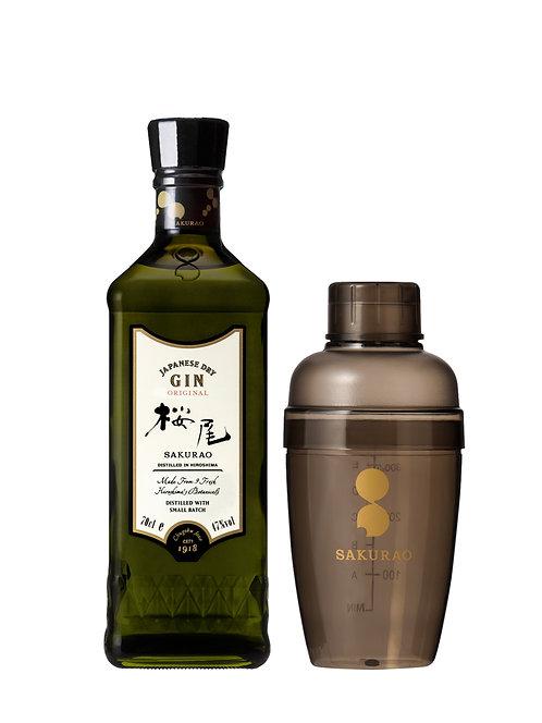 Sakurao Gin Original Shaker Set