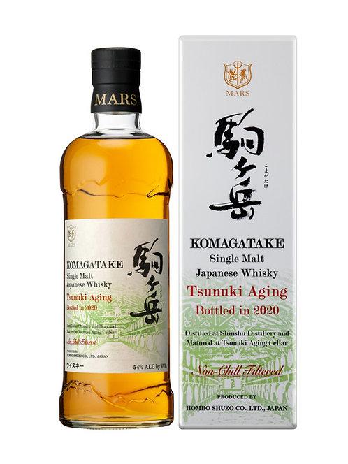 Mars Single Malt Komagatake Tsunuki Aging Bottled in 2020