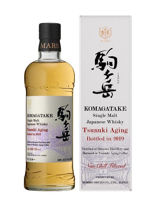 Mars Single Malt Komagatake Tsunuki Aging Bottled in 2019