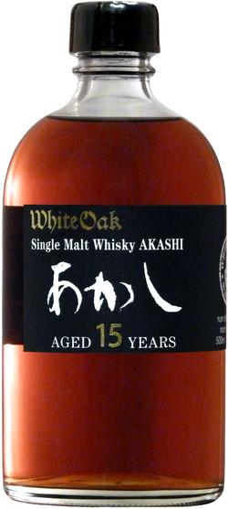 Akashi Single Malt Whisky 15 Years