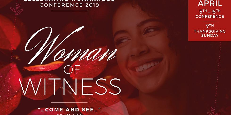 Celebrating Womanhood 2019: Woman of Witness (1)