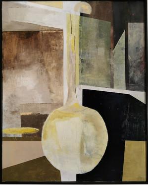 """Eden Court"" oil on canvas 120cm x 100cm"