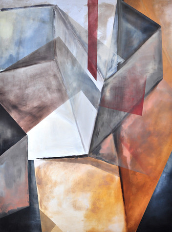 """Maze"" Oil On Canvas  200cm x 150cm"