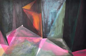 """Lost"" Acrylic on Canvas : 150cm x 100cm"