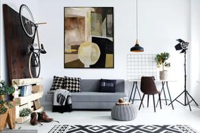 """Eden Court"" oil on stretched canvas 100cm x 120cm"