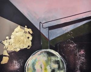 """Stillness Along The Way"" Acrylic and Go"