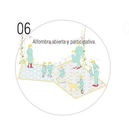 Alfombra participativa