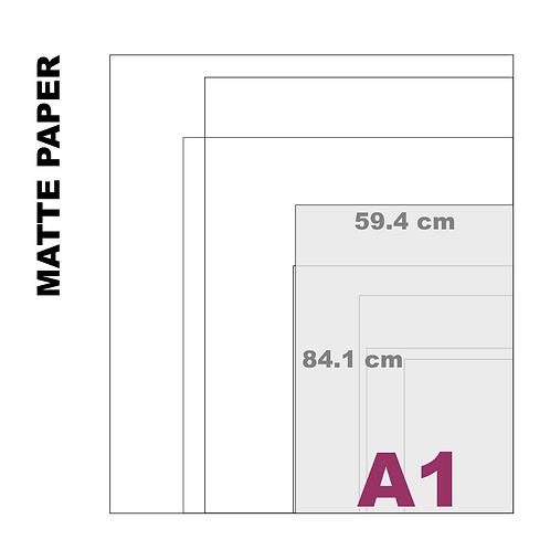 Enhanced Matte A1 Paper Print (189 g/m²)